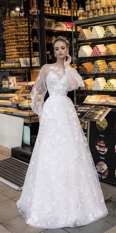 One of the most stunning wedding dresses I have ever seen!