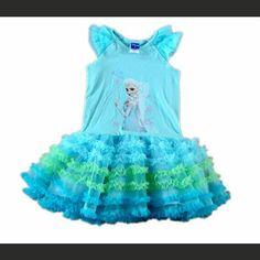 Frozen Elsa Dress www.mizaniwearonline.com