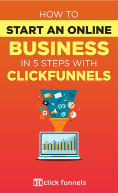Have an great business idea but not sure how to build an online business? In this guide, you'll learn how to build a successful online business from scratch, even if you've never done it before, with the help of Clickfunnels sales funnel software! #clickfunnel #salesfunnel #onlinebusiness Sales And Marketing, Internet Marketing, Online Marketing, Great Business Ideas, Seo Guide, Sales Process, Successful Online Businesses, Young Entrepreneurs, Creating A Business