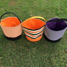 Custom Haloween Bucket,Halloween Bucket,Embroidered Haloween Bucket,Personalized…