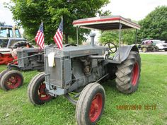 Old Case C standard tractor