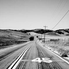 imagenes blanco y negro tumblr | Fondo: Carretera USA Para IPad | Fondobook