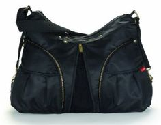 Amazon.com: Skip Hop Versa Diaper Bag, Black: Baby