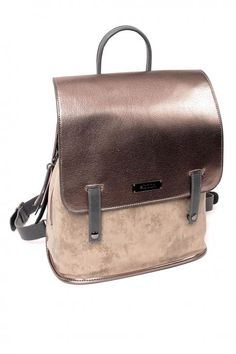 e19ace867c Back bag gray Pu Leather