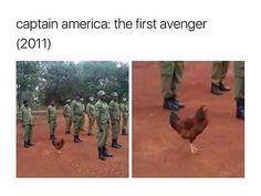 """194 Beğenme, 1 Yorum - Instagram'da avengers (@axengers): """"the chicken omg"""""""