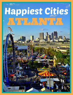 "Atlanta Ranked no. 4 ""Happiest"" City Among America's Top 10 Markets"