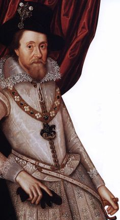JAMES - SON OF HENRY STUART, Lord Darnley, and Mary Queen of Scots - became King James VI of Scotland in 1567, the year after his birth. He then waited patiently for Elizabeth I to die, when the thrones of England and Scotland might be joined, and in 1589 married Anne of Denmark. The couple had seven children.