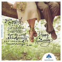 To one of those couples that really show the world the beauty God created marria… - Modern Marriage Anniversary Quotes, Anniversary Wishes For Couple, Happy Aniversary, Happy Wedding Anniversary Wishes, Anniversary Message, Wedding Greetings, Anniversary Greetings, Wedding Wishes, Anniversary Gifts