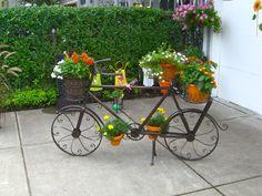 objetos rusticos decoracion jardines