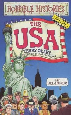 """""""The USA (Horrible Histories Special)"""" av Terry Deary"""
