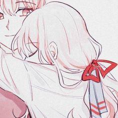 Metadinhas   #metadinhas #anime Profile Pictures Instagram, Cute Anime Profile Pictures, Matching Profile Pictures, Anime Girl Drawings, Anime Couples Drawings, Anime Couples Manga, Matching Pfp, Matching Icons, Matching Couples