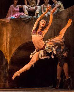 "Elizaveta Cheprasova, ""Spartacus"", Hungarian National Ballet"