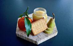 Recette de petit pot compote clémentine poire et petit beurre de lu ! Un régal pour nos bébés !