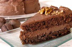 Torta od oraha i čokolade / Chocolate cake with walnuts | Bite my cake