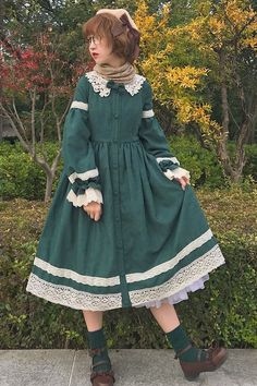 Star Fantasy -Peter Pan- Vintage Classic Lolita OP Dress