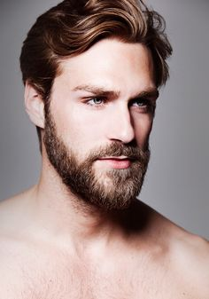 Hairstyles that work with beards #hair #beard #winter