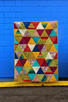 A+Quilter's+Table:+Triangles