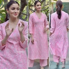 Such a soft and dreamy look Alia Bhatt poses for the cameras looking supes pretty for the promotions of her new movie ❤️❤️ FOLLOW …