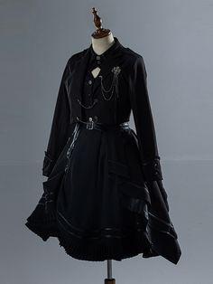 Harajuku Fashion, Kawaii Fashion, Lolita Fashion, Cosplay Outfits, Edgy Outfits, Cool Outfits, Old Fashion Dresses, Fashion Outfits, Military Fashion