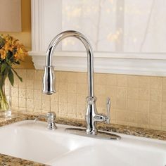 Pfister Hanover GT52-9TM Single Handle Pull Down Kitchen Faucet