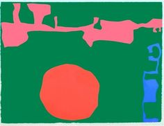 Patrick Heron Abstract Words, Abstract Images, Abstract Art, Patrick Heron, Art Graphique, Typography Art, Contemporary Paintings, Abstract Expressionism, Illustration Art