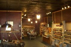 I love the spice and tea exchange in Alexandria! They have all sorts of spices, teas and even flavored sugars!