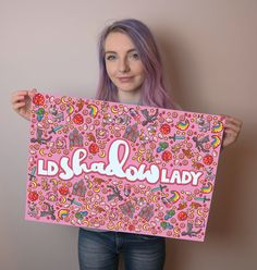 LDShadowLady x Enfu Pink Poster Minecraft Tips, Minecraft Designs, Ldshadowlady Fan Art, Weather Rock, Famous Youtubers, Joey Graceffa, Pewdiepie, The Good Old Days, Rare Photos