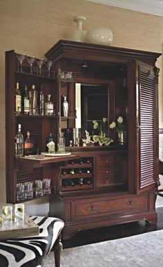 from the moment you first lay eyes on our havana barmoire you know it will french makeoverbar ideaschina