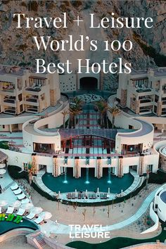This year's list of the top 100 hotels in the world reflects 33 countries. Take a look through to find your next stay for your bucket list destinations! Honeymoon Night, All Inclusive Honeymoon, Honeymoon Cruise, Hotels And Resorts, Best Hotels, Fogo Island Inn, Top Vacation Destinations, Luxury Collection Hotels, Hotel Lounge