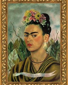 #Frida Kahlo was undoubtedly a remarkable #woman. She began #painting in 1926, after she was heavily damaged in a traffic accident. This tragedy resulted in a lifelong severe pain and inability to have #children. A passionate and unhappy #marriage with another famous Mexican #artist Diego #Rivera is another link to the chain of Frida's physical and mental suffering. Her #art is focused on #folk traditions of Mexican #culture - #bright, allegorical and deliber