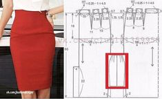 Amazing Sewing Patterns Clone Your Clothes Ideas. Enchanting Sewing Patterns Clone Your Clothes Ideas. Skirt Patterns Sewing, Clothing Patterns, Pattern Skirt, Fashion Sewing, Diy Fashion, Sewing Clothes, Diy Clothes, Costura Fashion, Do It Yourself Fashion