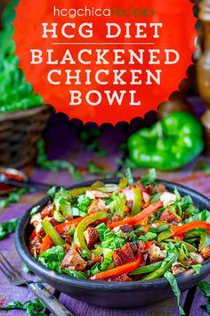 Hgc Diet Recipes, Hcg Chicken Recipes, Veggie Recipes, Phase 2 Hcg Recipes, Healthy Recipes, Protein Veggie Meals, Protein Diets, Low Calorie Salad, Calorie Diet