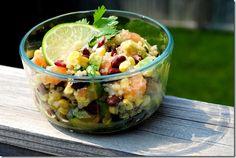 Black Bean, Quinoa & Citrus Salad #salad