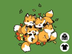 Playful Foxes for $8 - $26