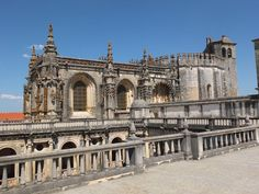 Convent of Christ (Tomar) Originally a 12th-century Templar stronghold, when the order was dissolved in the 14th century the Portuguese branch was turned into the Knights of the Order of Christ, that later supported Portugal's maritime discoveries of the 15th century.