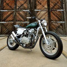 Mule Motorcycles 'MLAV' Street Tracker