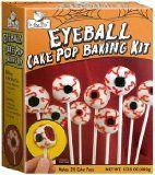Halloween Eyeball Cake Pop Baking Kit