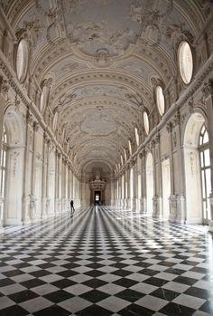Galleria di Diana in Venaria Royal Palace - Classical Architecture