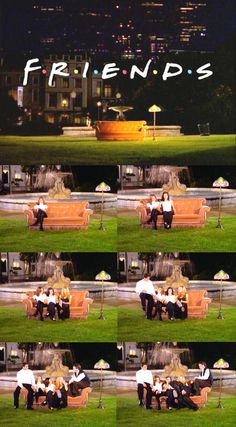 """I'll Be There for You,"" theme song, opening title sequence of Friends."