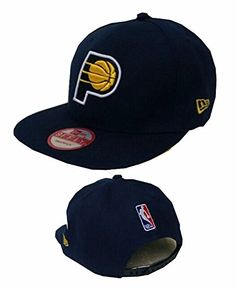 8f22a9fe8d7 Indiana Pacers NBA Cap Black Adjustable Hat Adult One Size    Click image  to review more details.