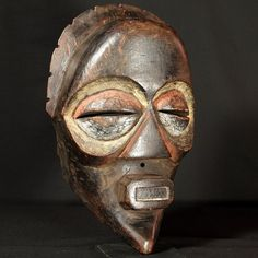 Mbagani Mask : Collected by Jean Pierre Hallet
