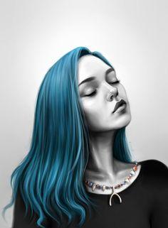 Karou by MaryVozhdaeva on DeviantArt