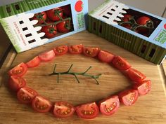 Our Cocktail Tomatoes are in the #TomatoTailgate spirit!