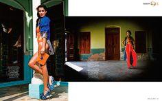 Lana B for Grazia India April '13