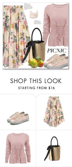 """""""Casual Picnic in the Park"""" by jecakns ❤ liked on Polyvore featuring Alexis Bittar, picnic and zaful"""
