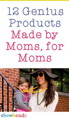 12 Genius Products Made by Moms, for Moms