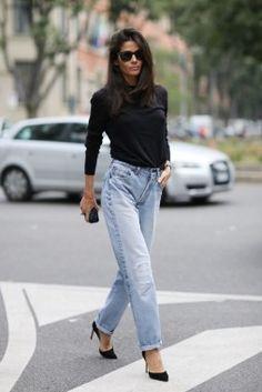 Street Style, Spring Summer 2015, Milan Fashion Week, Italy - 18 Sep 2014