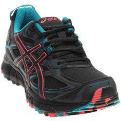 6c4c2bd8de2 ASICS Women's Gel-Scram 3 Trail Runner, Anthracite/Black/Columbia Sea, 11 M  US: Our trail ready gel-scram 3 shoe combines active wear with adventure  style.