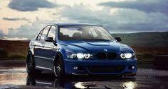 BMW E39 M5 blue Facebook: BMW Lazarevac