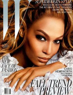 Joan Smalls covers W